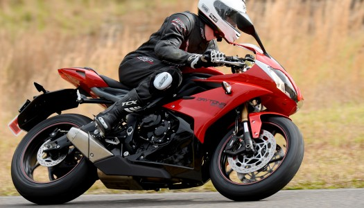 2013 Triumph Daytona 675 Review