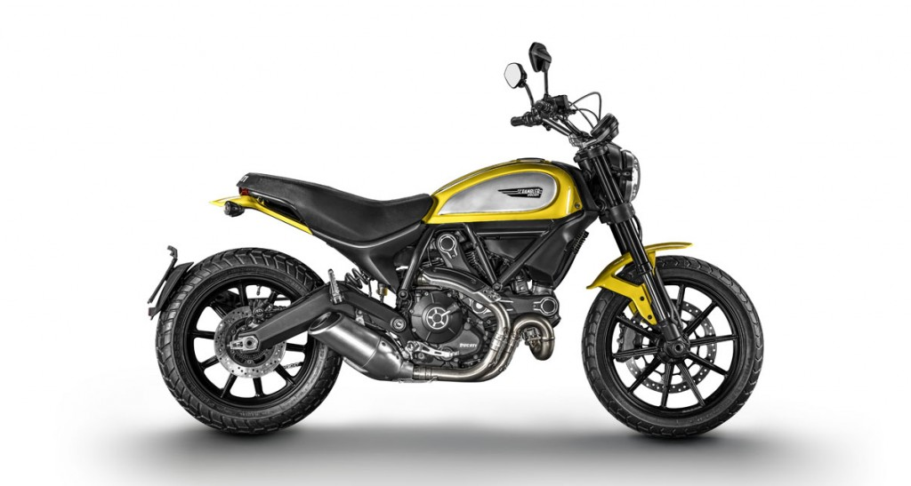 Ducati Scrambler Icon studio static
