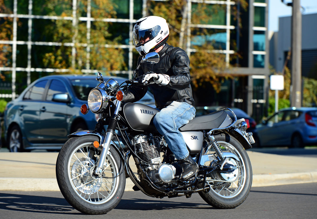 review 2014 yamaha sr400 australian launch bike review
