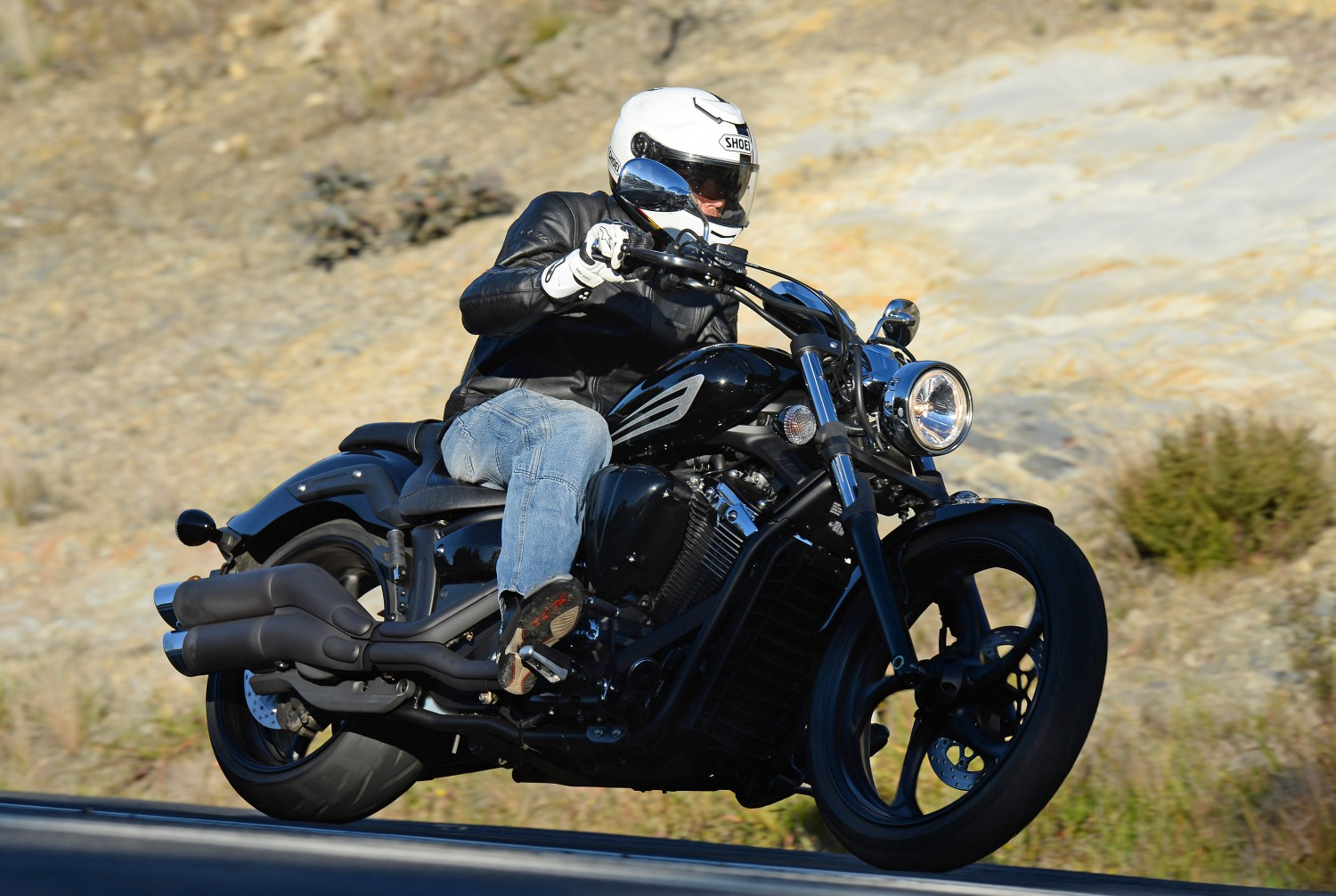 Review 2014 yamaha stryker launch bike review for 2015 yamaha stryker