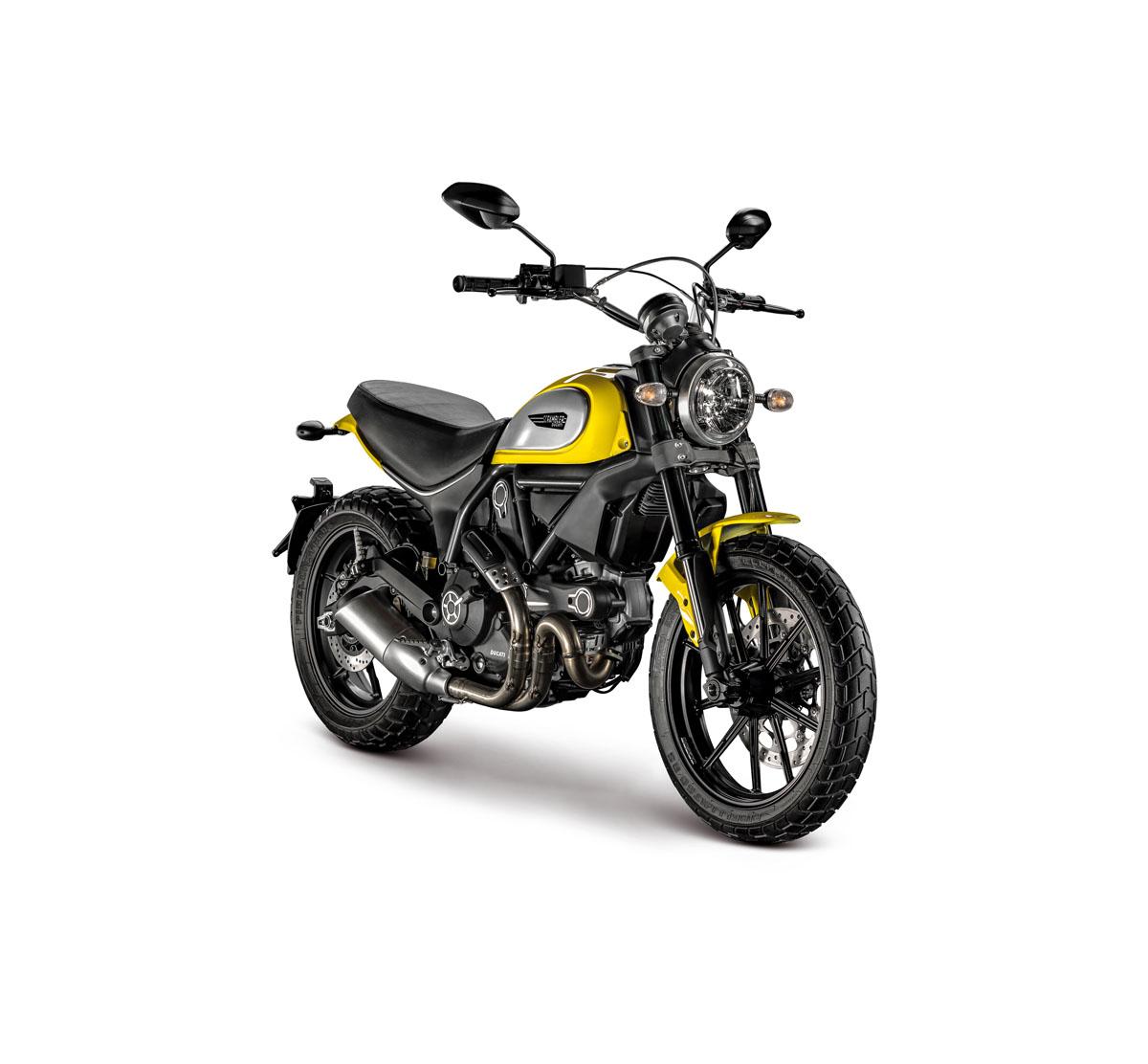 Review 2015 Ducati Scrambler Icon Bike Review