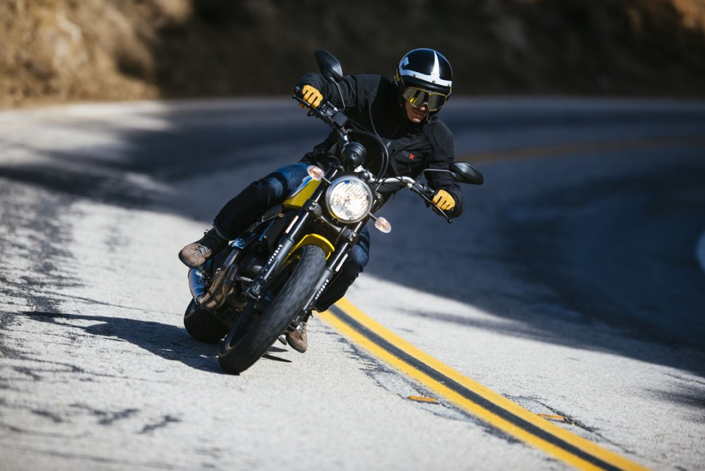 Ducati Scrambler Icon action