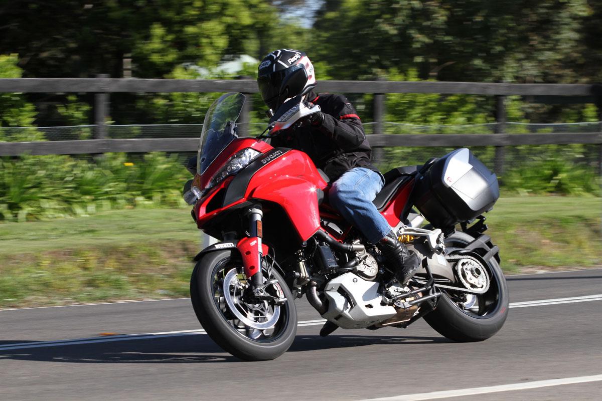 Review 2015 Ducati Multistrada 1200 S Bike Review