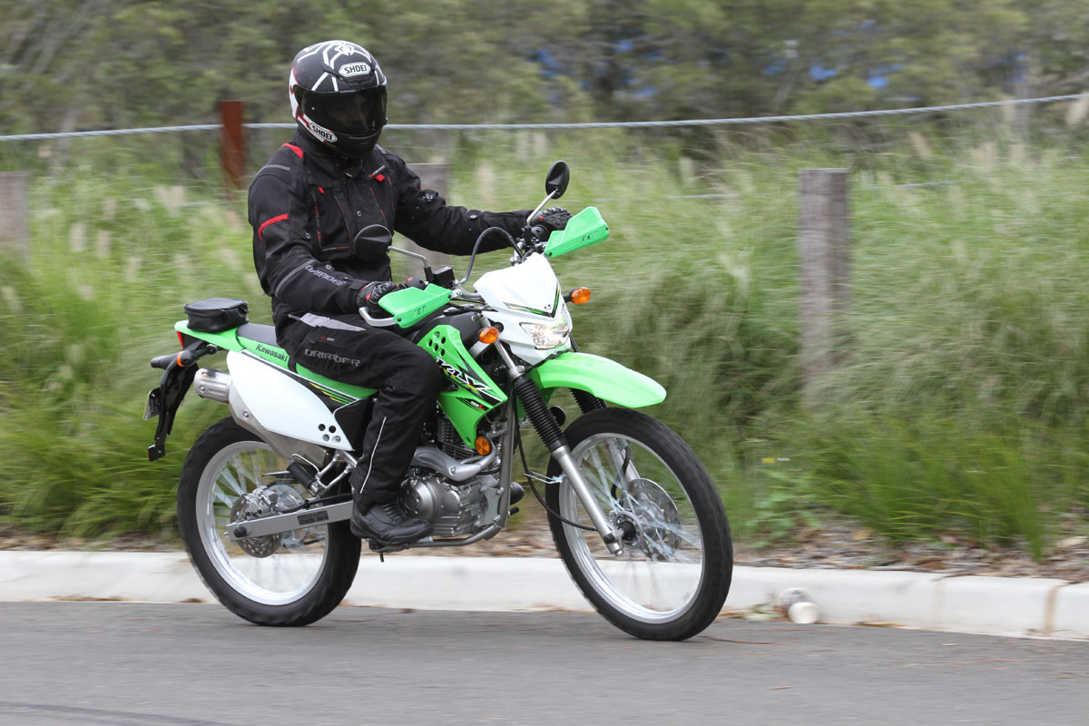 Kawasaki Klx Trail Riding