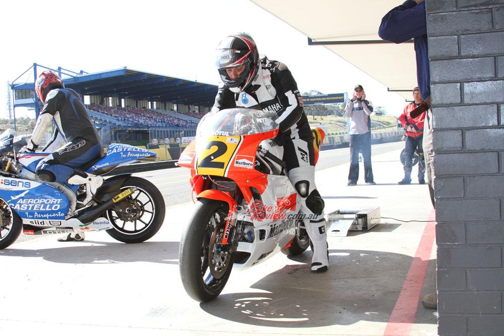 The Wayne Rainey YZF500