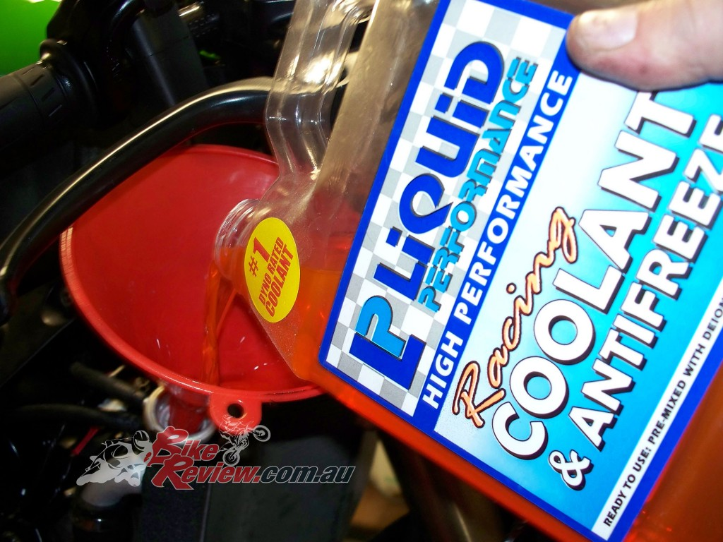 We have used Liquid Performance coolants in our project and race bikes for a long time.