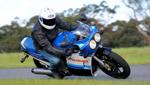 Suzuki GSX-R750 Old vs New Review