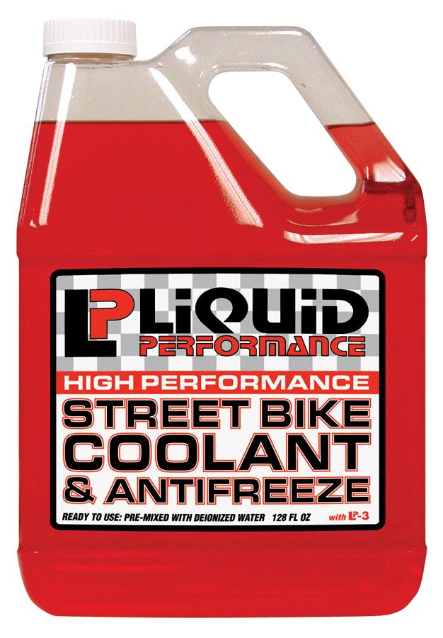 Liquid Performance Street Bike Coolant bottle 4L
