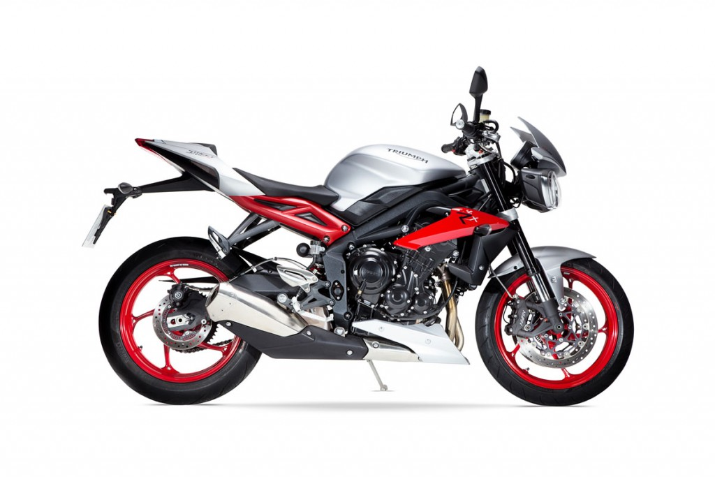 The Triumph Street Triple Rx 'Special Edition'.