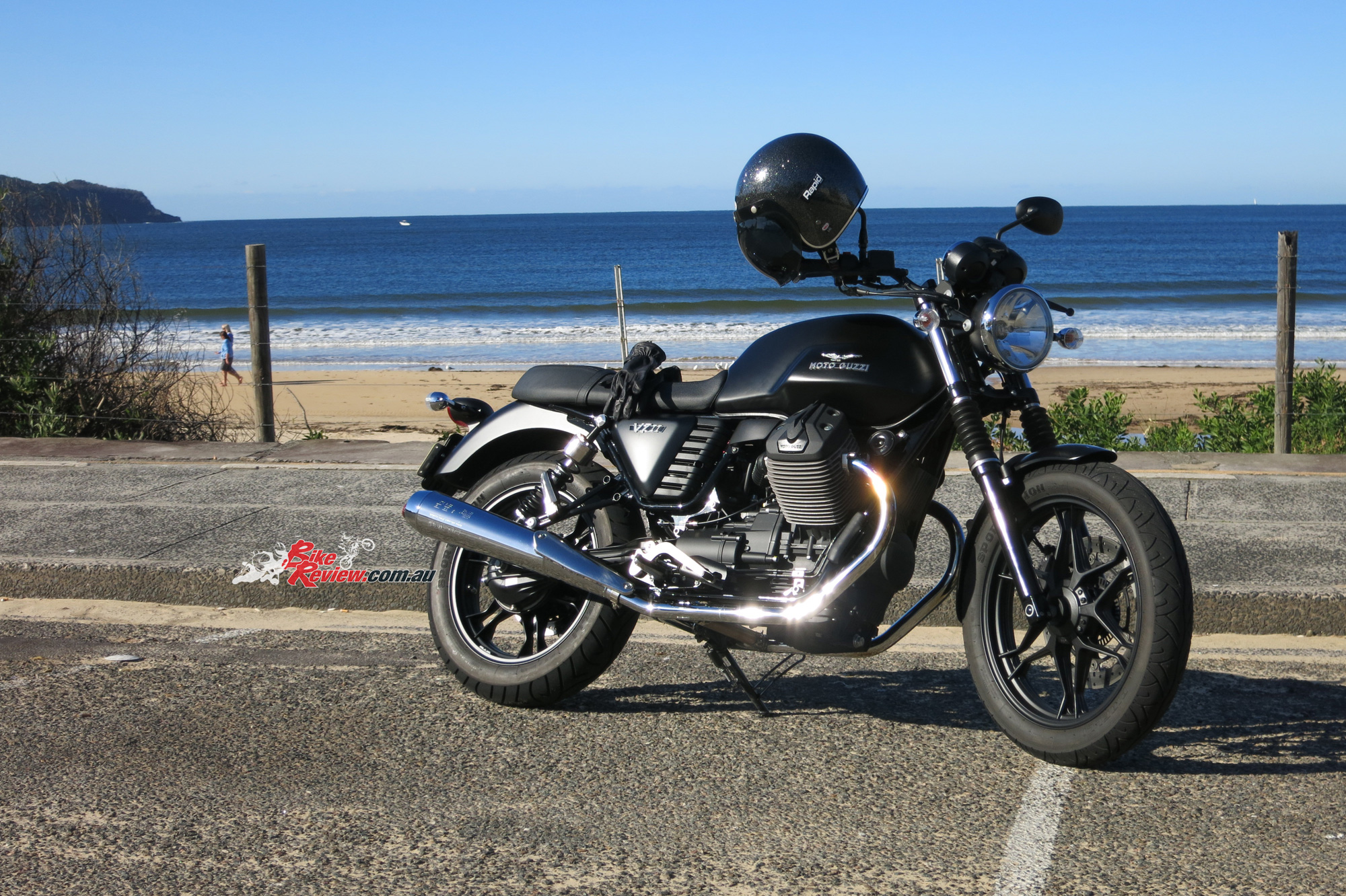 Review 2015 Moto Guzzi V7 Ii Stone Bike Review