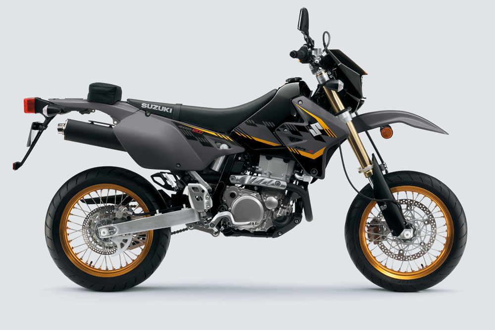 2016 suzuki dr z400sm released bike review. Black Bedroom Furniture Sets. Home Design Ideas
