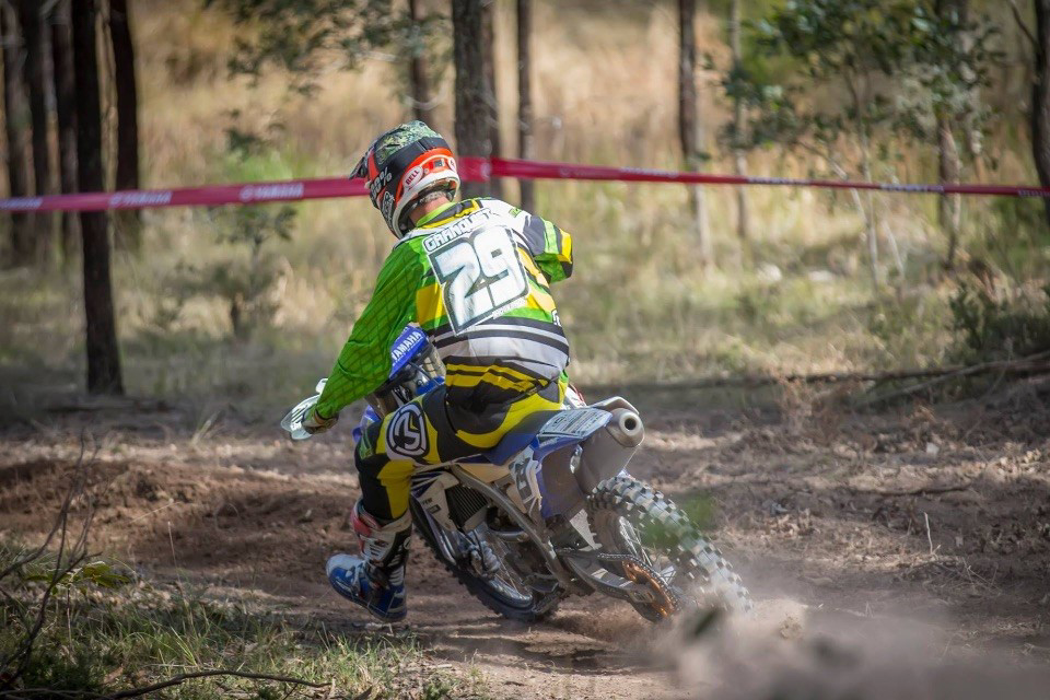 Granquist back on Yamaha and this time in the E1 division
