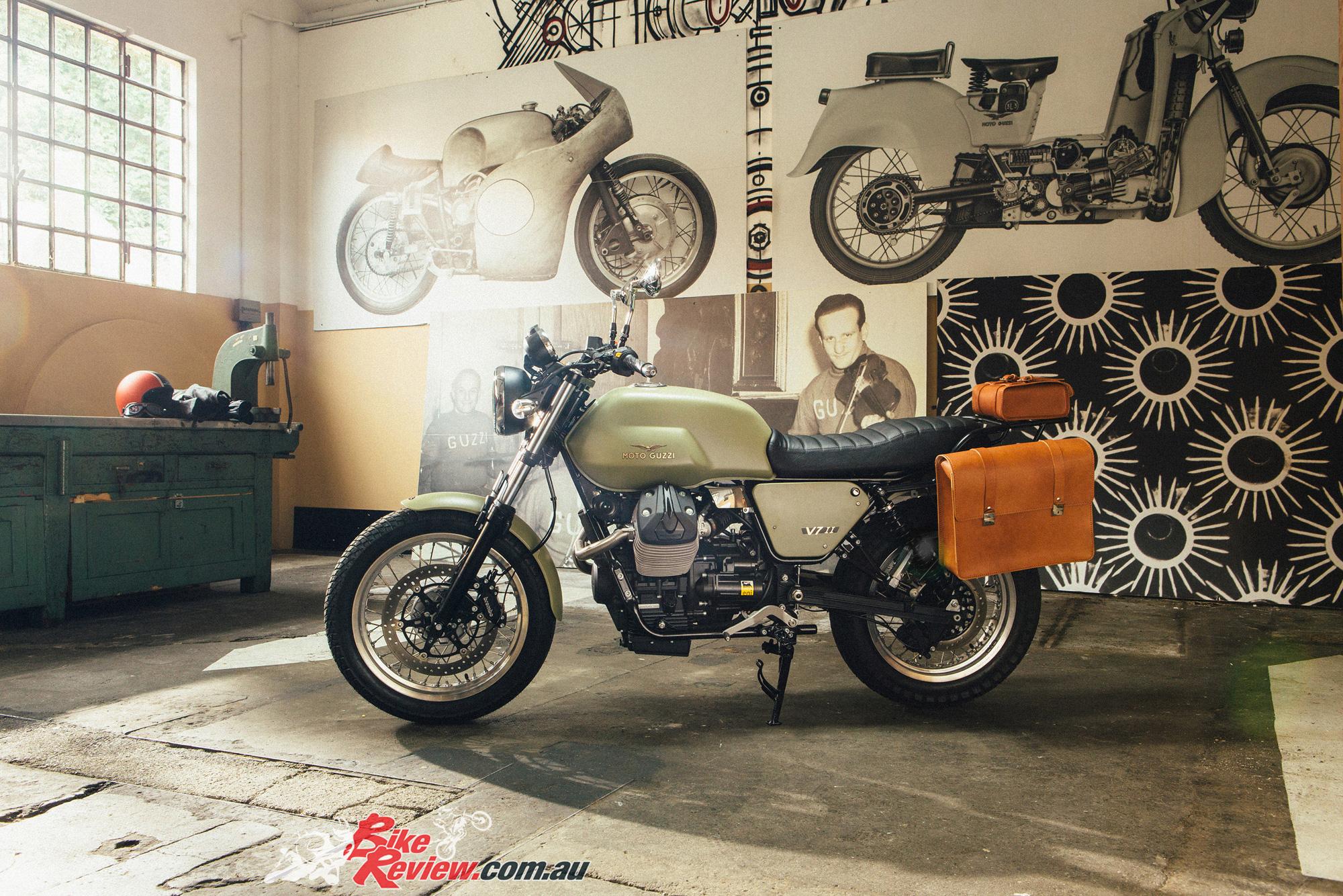 Review 2015 Moto Guzzi V7 Ii Stone Bike Review