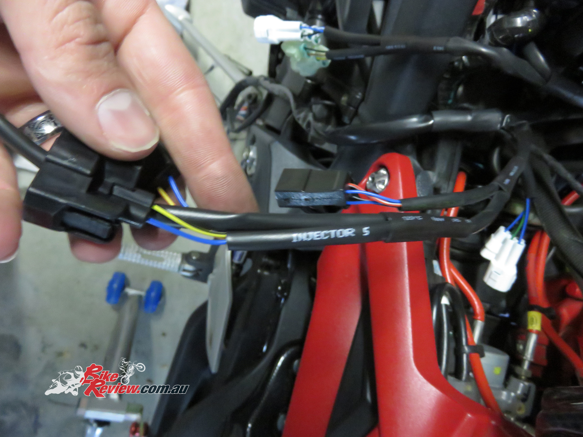 Tech Tips Fuel Module Install Rapid Bike Evo Review Easy Rider Wiring Harness Bikereview 111