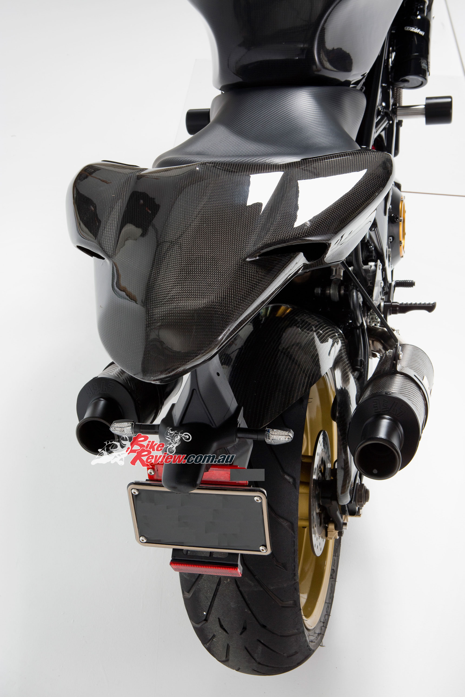 Custom Suzuki Tl1000s Carbon Fighter Bike Review