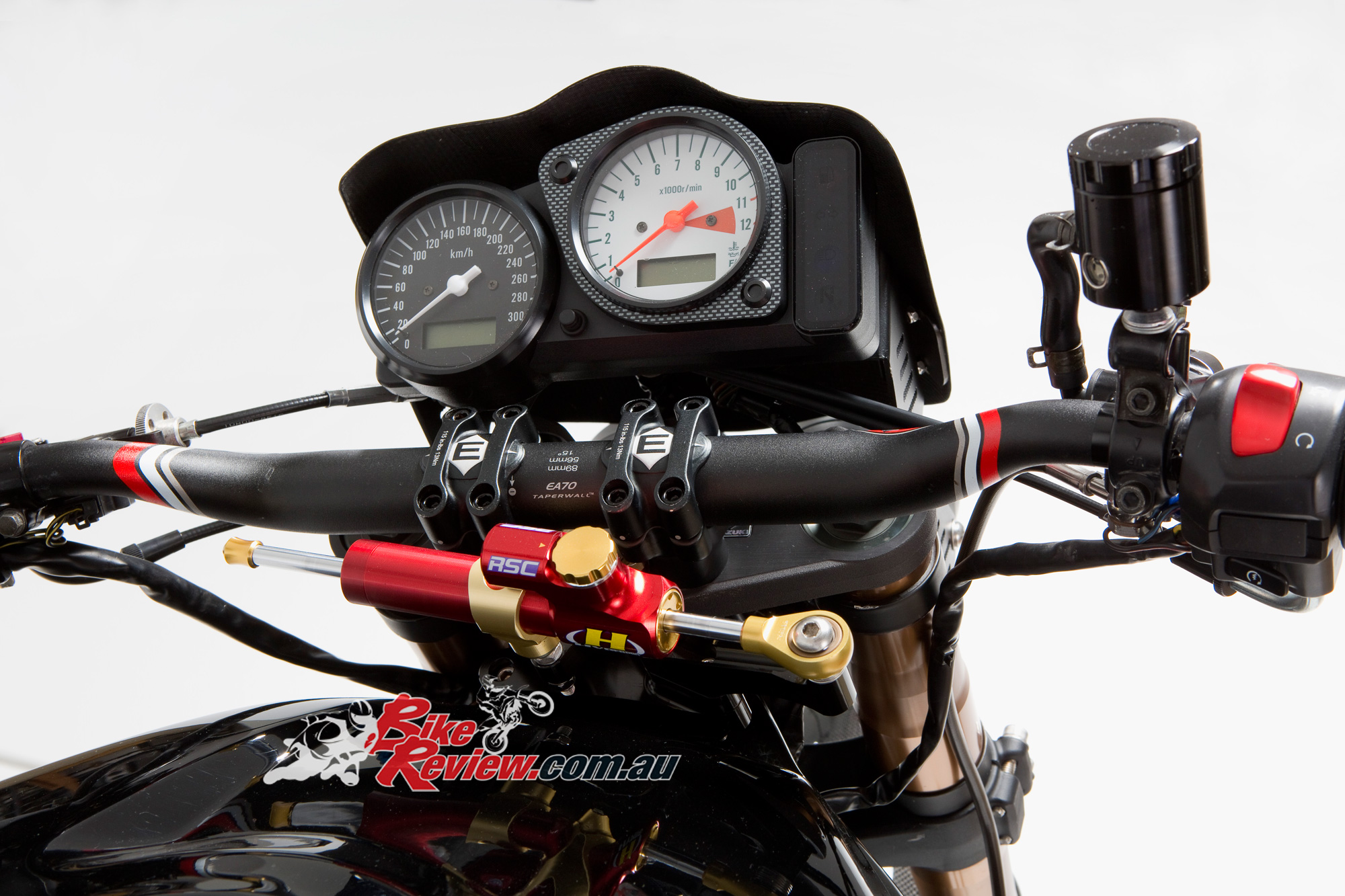 Custom Suzuki Tl1000s Carbon Fighter Bike Review