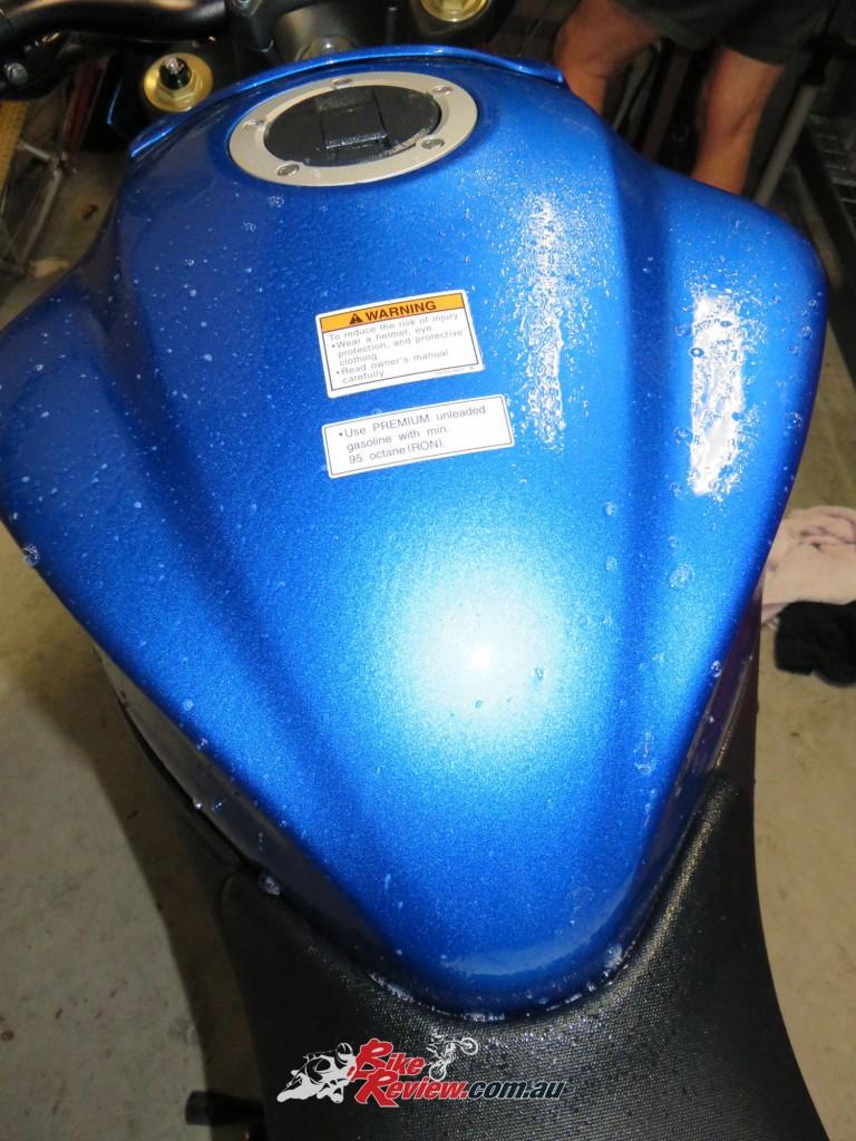 Bike Review GSX-S1000 Suzuki Stickers Decals (12)