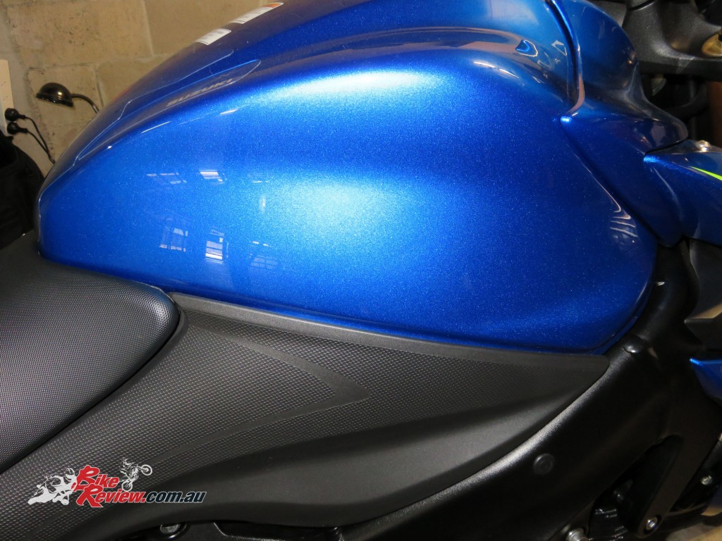 Bike Review GSX-S1000 Suzuki Stickers Decals (2)
