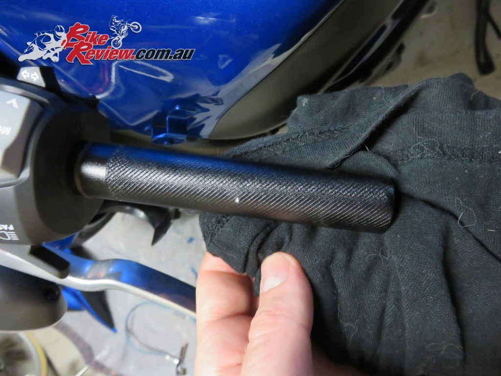 Bike Review Suzuki GSX-S1000 Heated Grips Install (12) copy