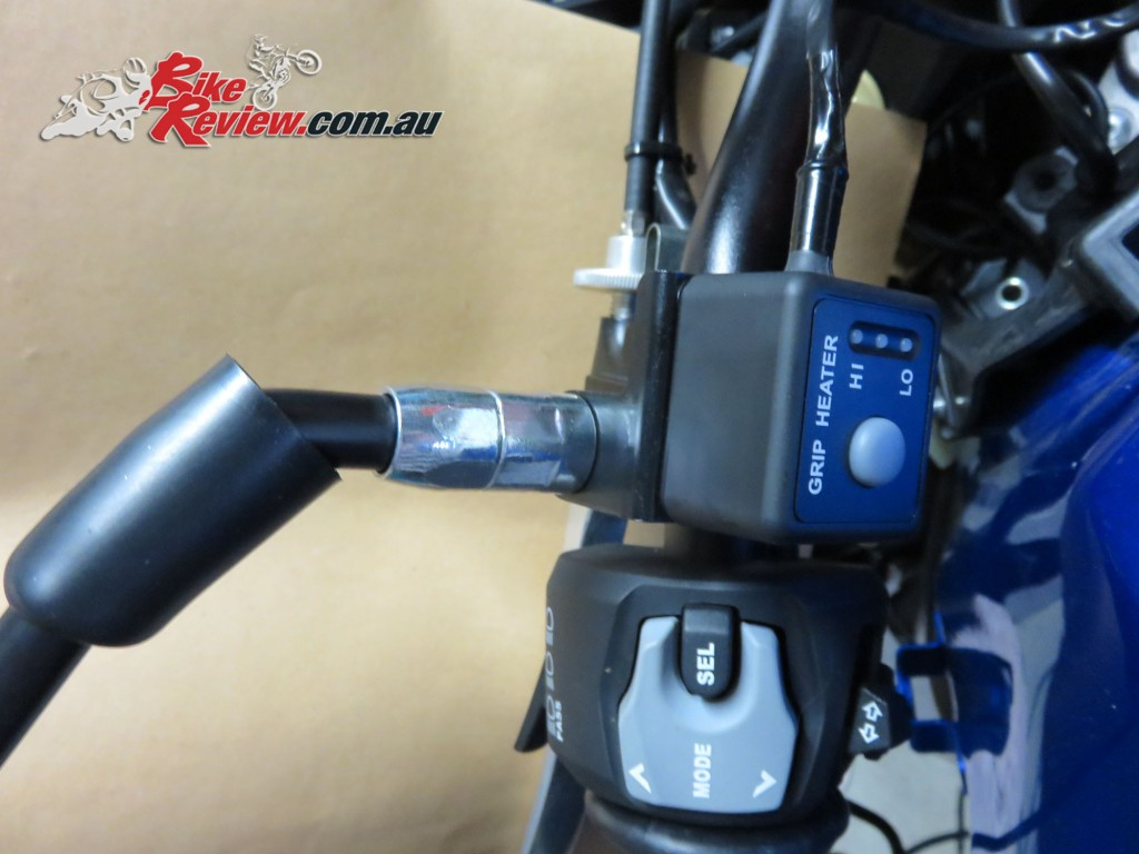 Bike Review Suzuki GSX-S1000 Heated Grips Install (20) copy