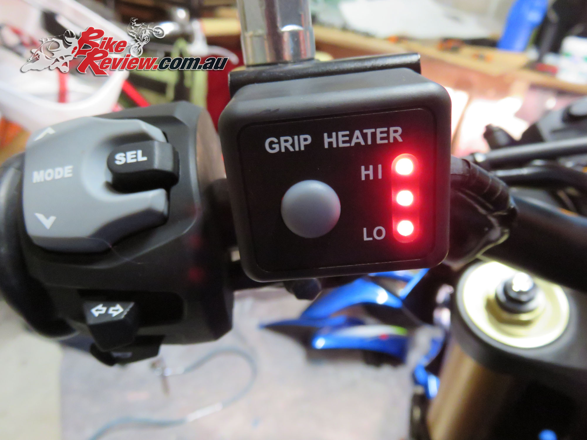 Staff Bike Suzuki Gsx S1000 Update Heated Grips Bike Review