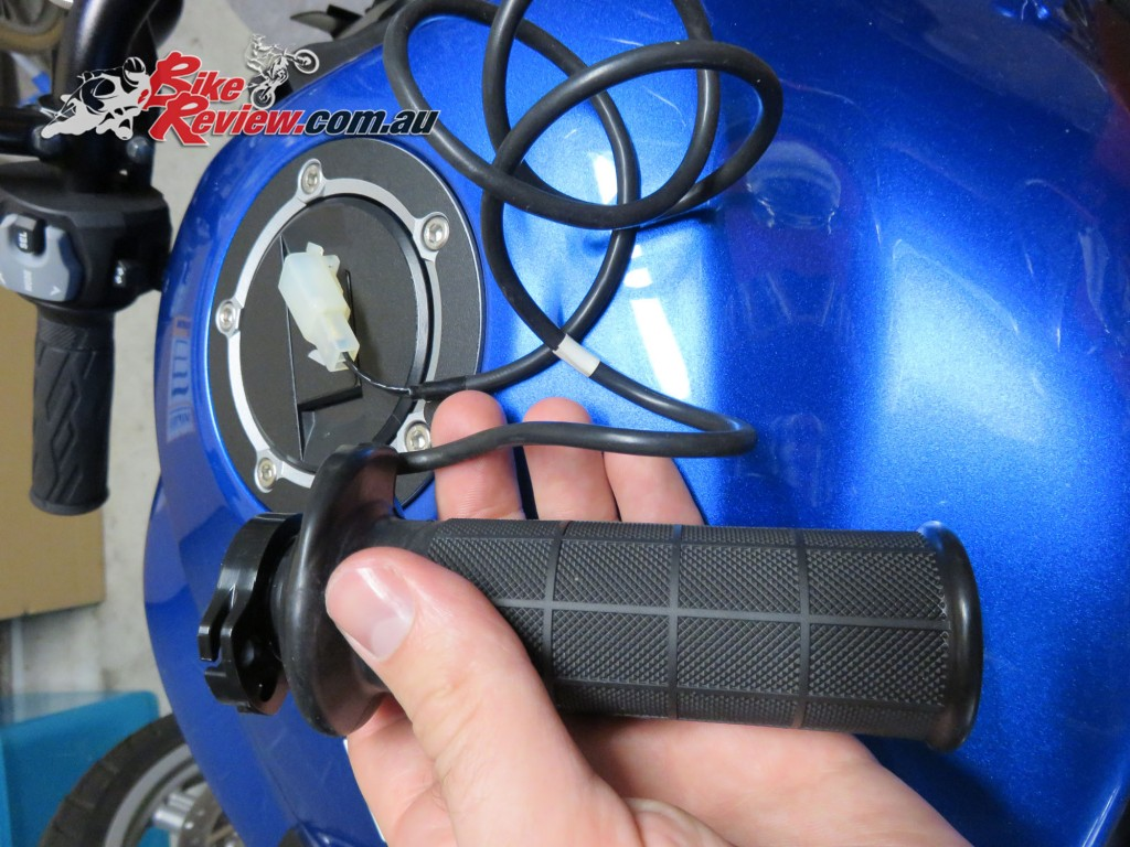 Bike Review Suzuki GSX-S1000 Heated Grips Install (6) copy