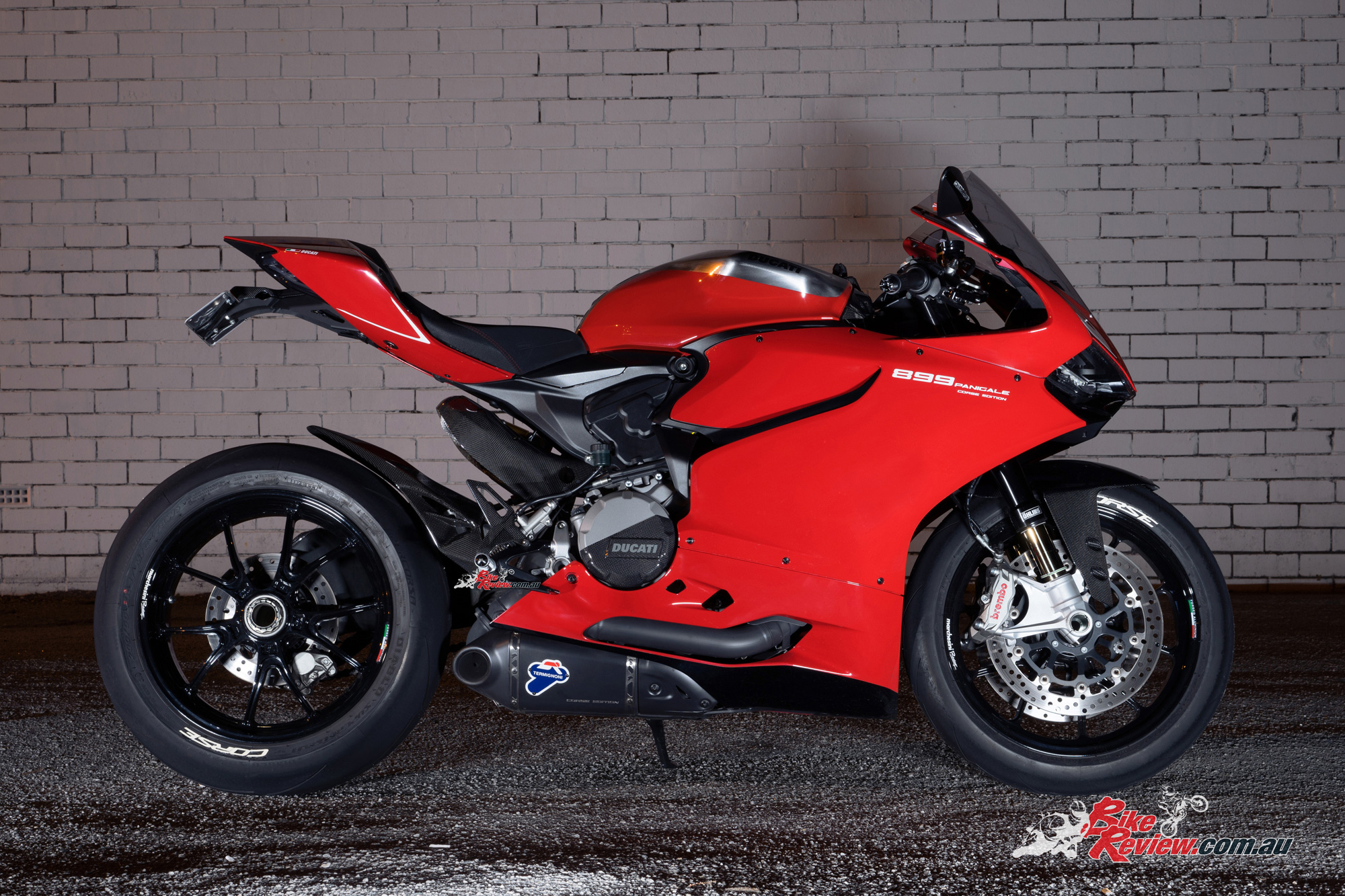 custom ducati 899 panigale 39 corse edition 39 bike review. Black Bedroom Furniture Sets. Home Design Ideas