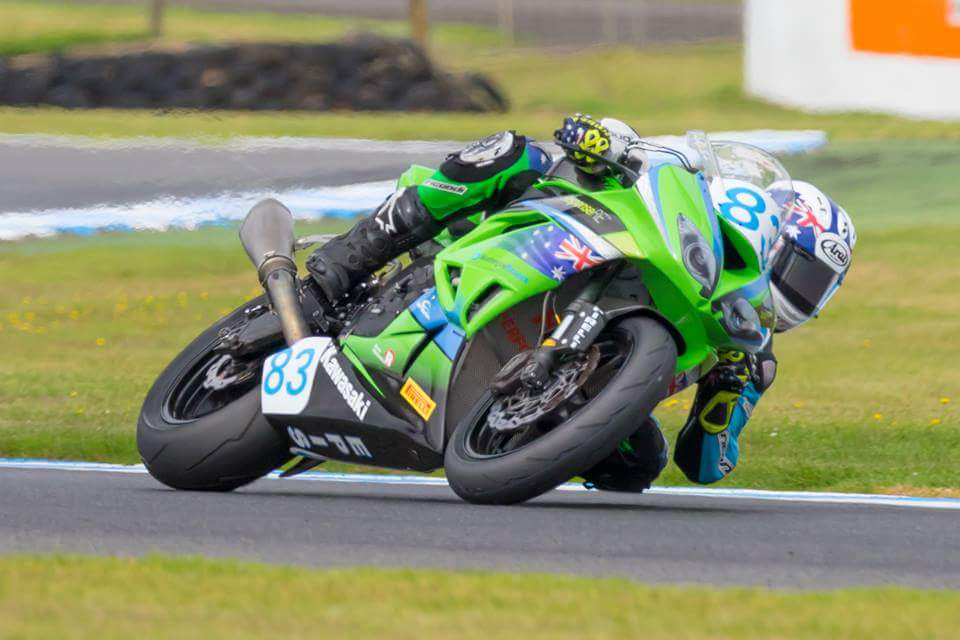 Lachlan Epis Continues to Improve at Phillip Island