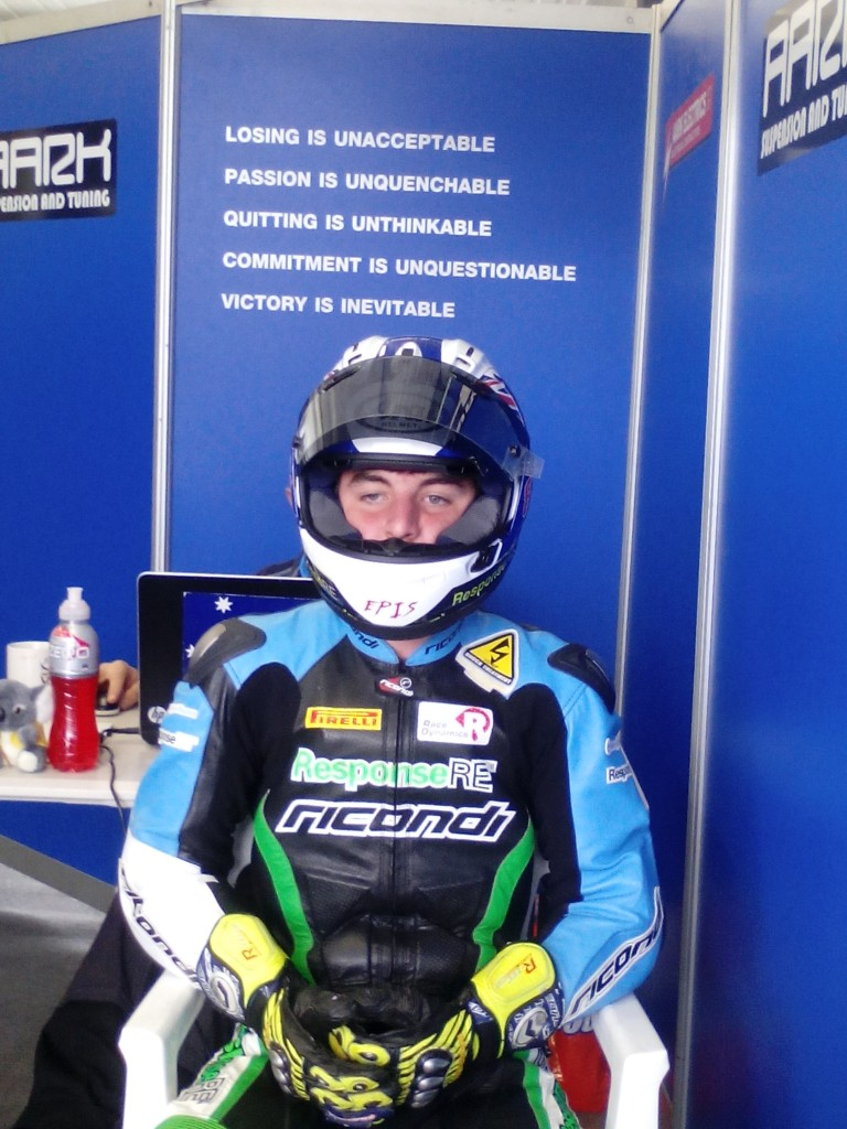 Lachlan Epis enjoys successful Practice Sessions Friday