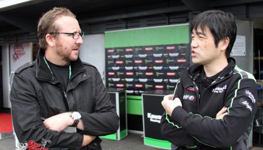 Quick Chat: Kawasaki Yoshimoto Matsuda