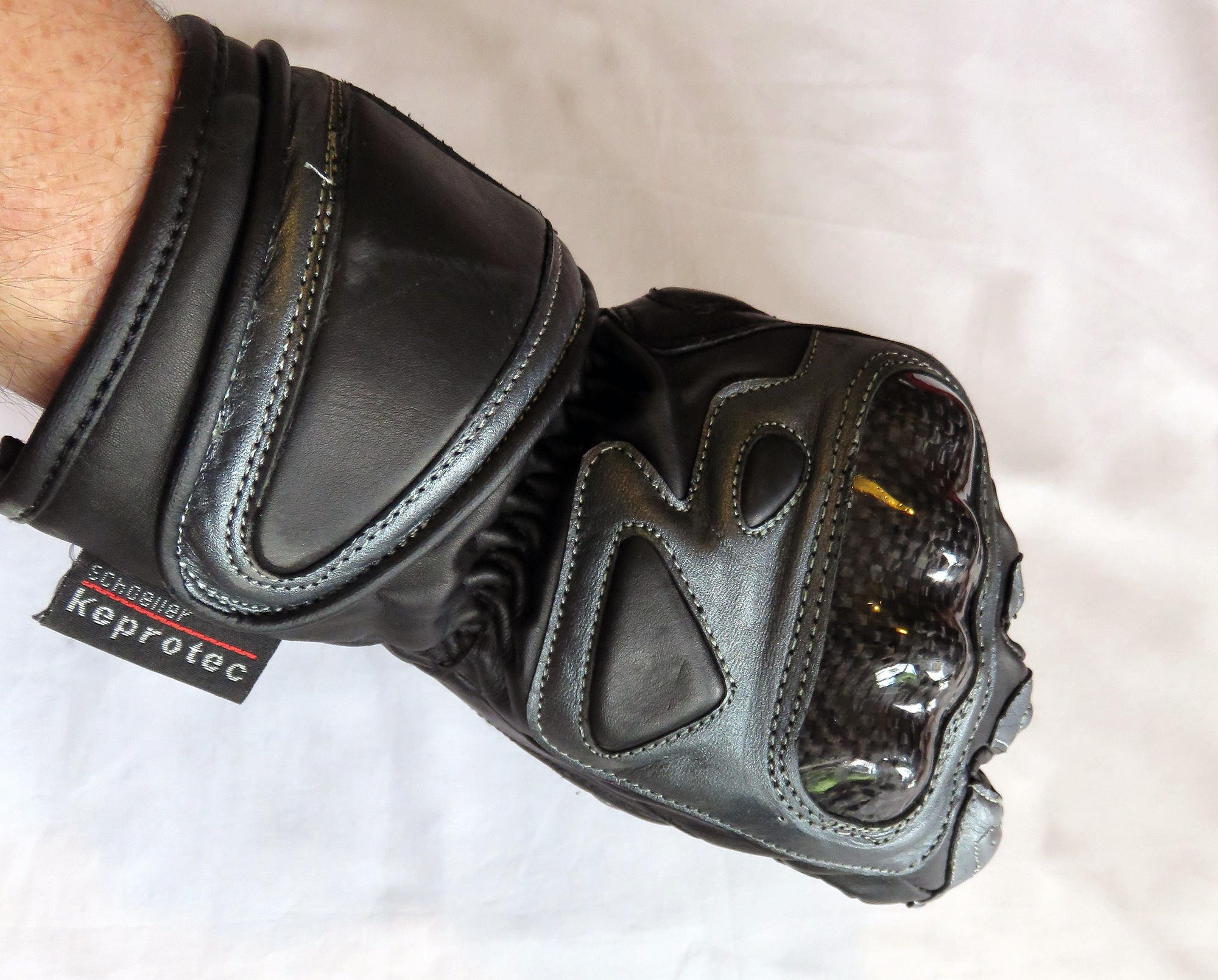 Yamaha motorcycle gloves india - Rnt Leather Motorcycle Gloves Bikereview 15