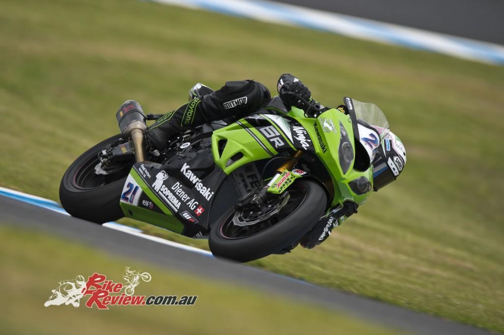 2016 Superbike World Championship, Winter Test, Phillip Island, Australia, 22-23 February 2016, Supersport, Randy Krummenacher, Kawasaki
