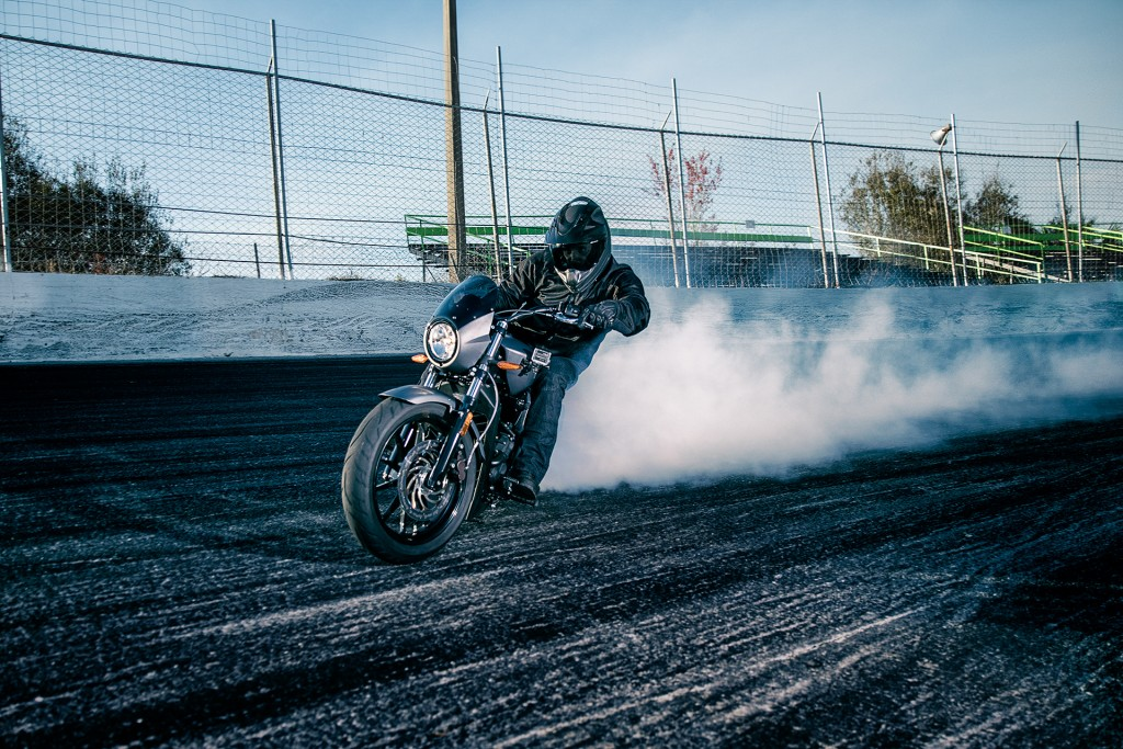 Victory Stunt Team rider Joe Dryden became a Guinness World Records title holder, by completing a burnout of 2.23 miles (3.58km) at Orlando Speed World on a Victory Octane.