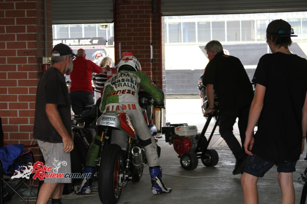 Bike Review Barry Sheene Festival Of Speed Friday Day One Qualifying (94) copy