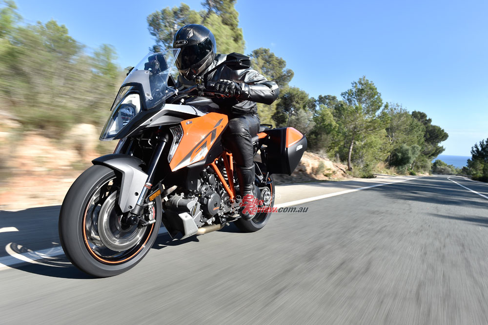 Acceleration from the massive V-twin is mental, giving tourers the option to either cruise or scare the hell out of sportsbike riders!