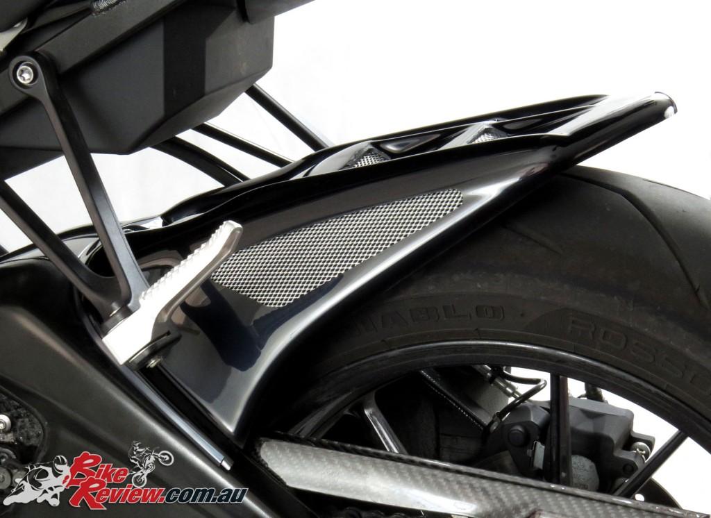 Bike Review Powerbronze BMW S 1000 RR 15 Gloss rear hugger guard