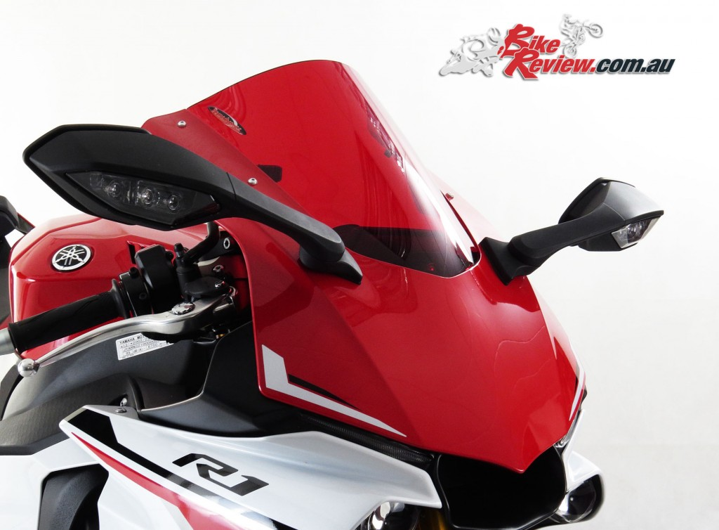 Bike Review Powerbronze YZF-R1 R1 Screen red-2