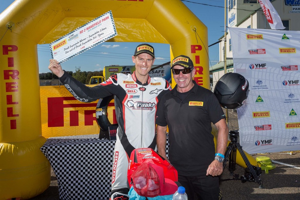 Local Herfoss and Clarke take out first 2016 Pirelli Superpole Awards