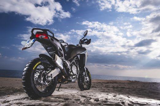 PIRELLI SCORPION Rally on new Ducati Multistrada 1200 Enduro 2