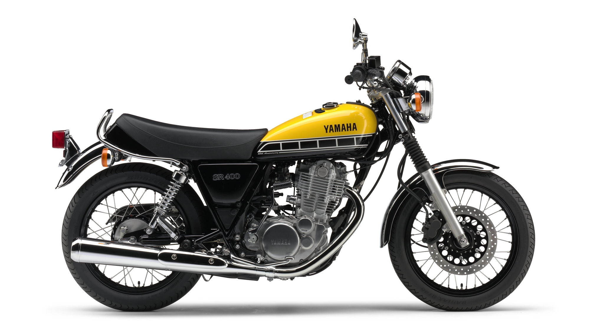 60th Anniversary Edition SR400 Released - Bike Review