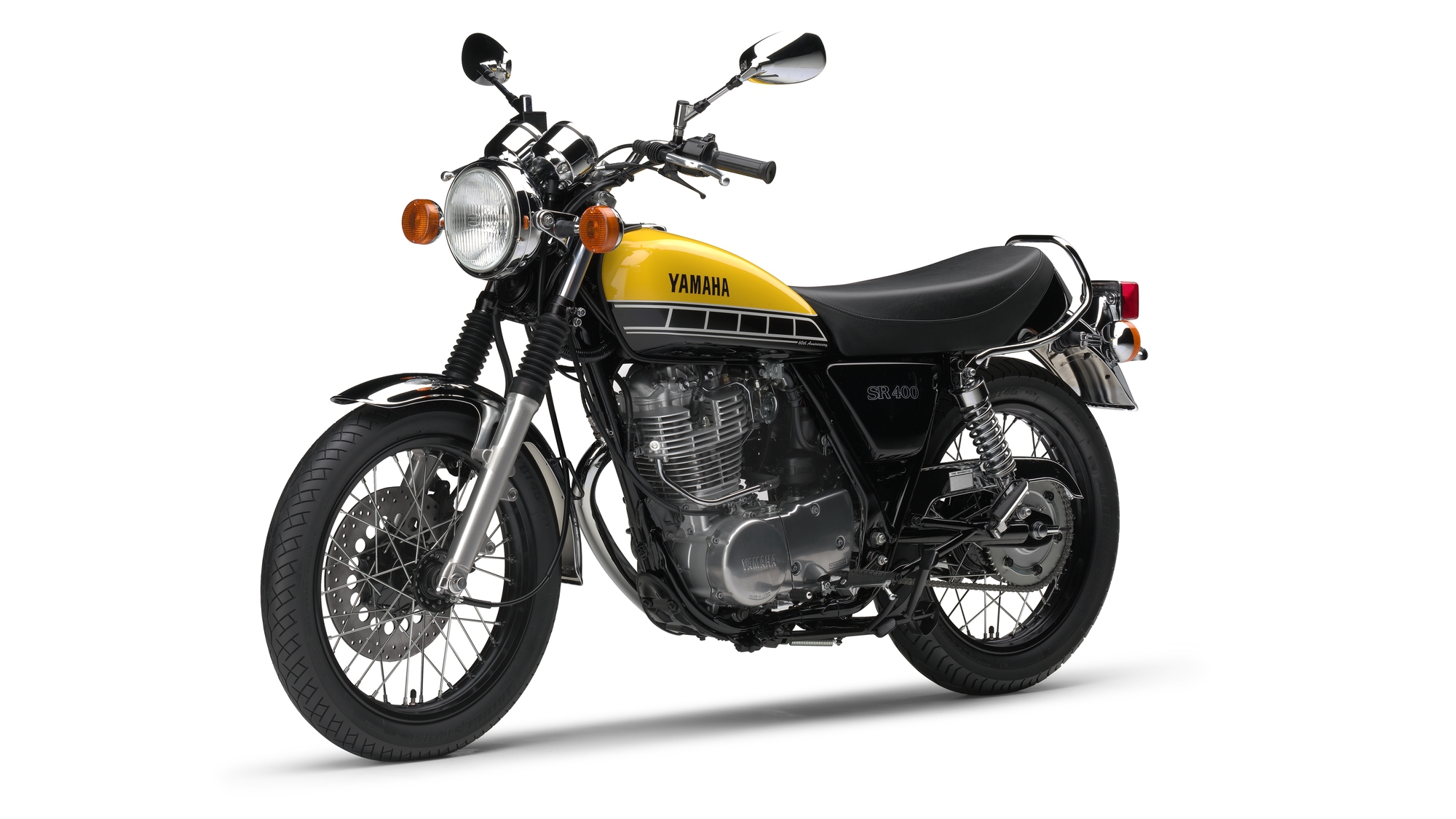 60th anniversary edition sr400 released bike review. Black Bedroom Furniture Sets. Home Design Ideas