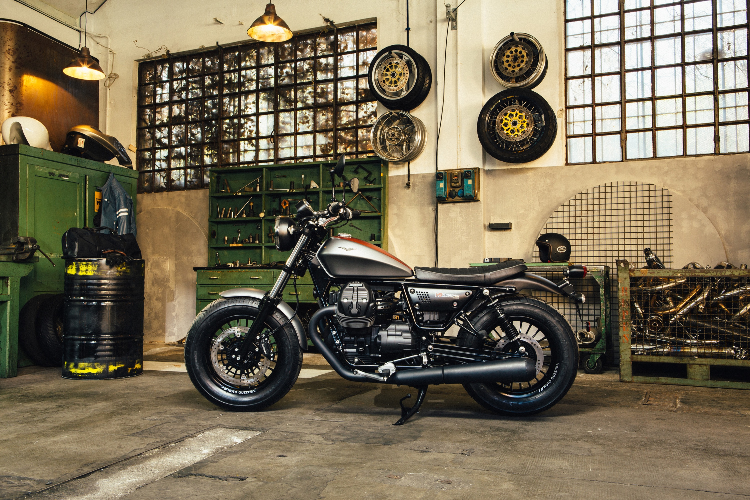 The New Moto Guzzi V9 Introduced Bike Review