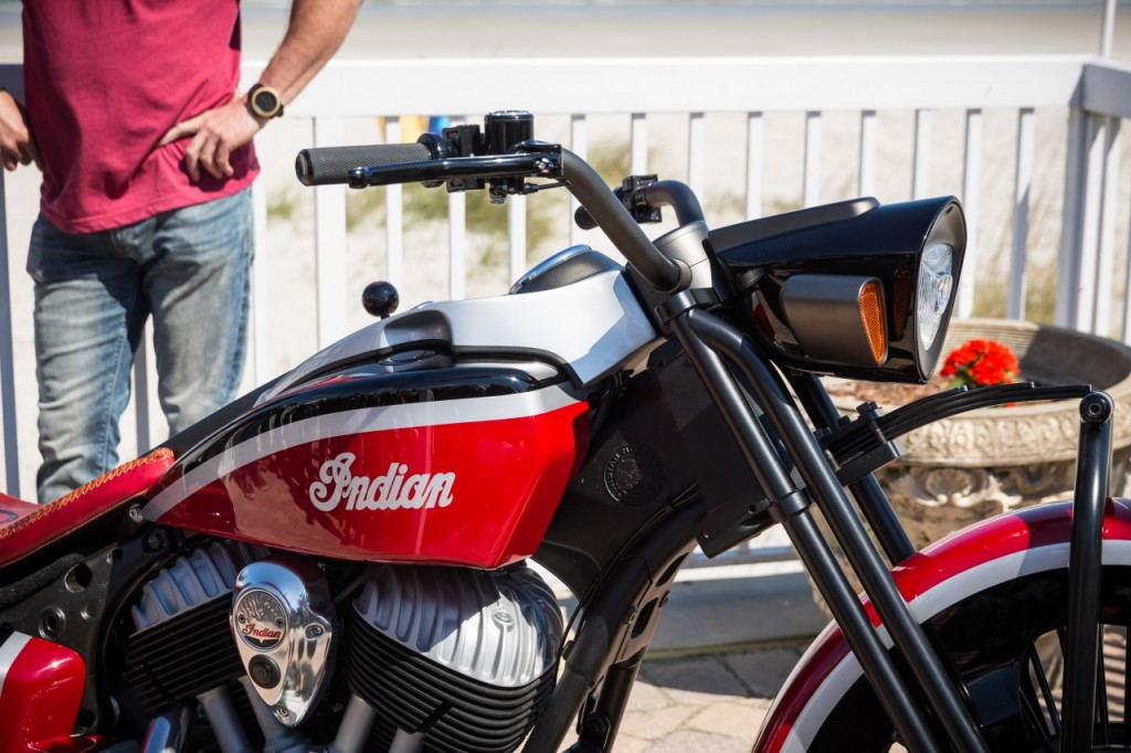 Indian Motorcycle presents the 'Frontier 111' custom Springfield 2