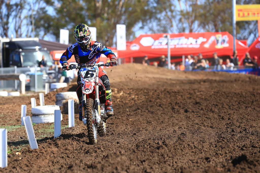 Long and Wilson Record Top Ten Finish for Crankt Protein Honda Racing