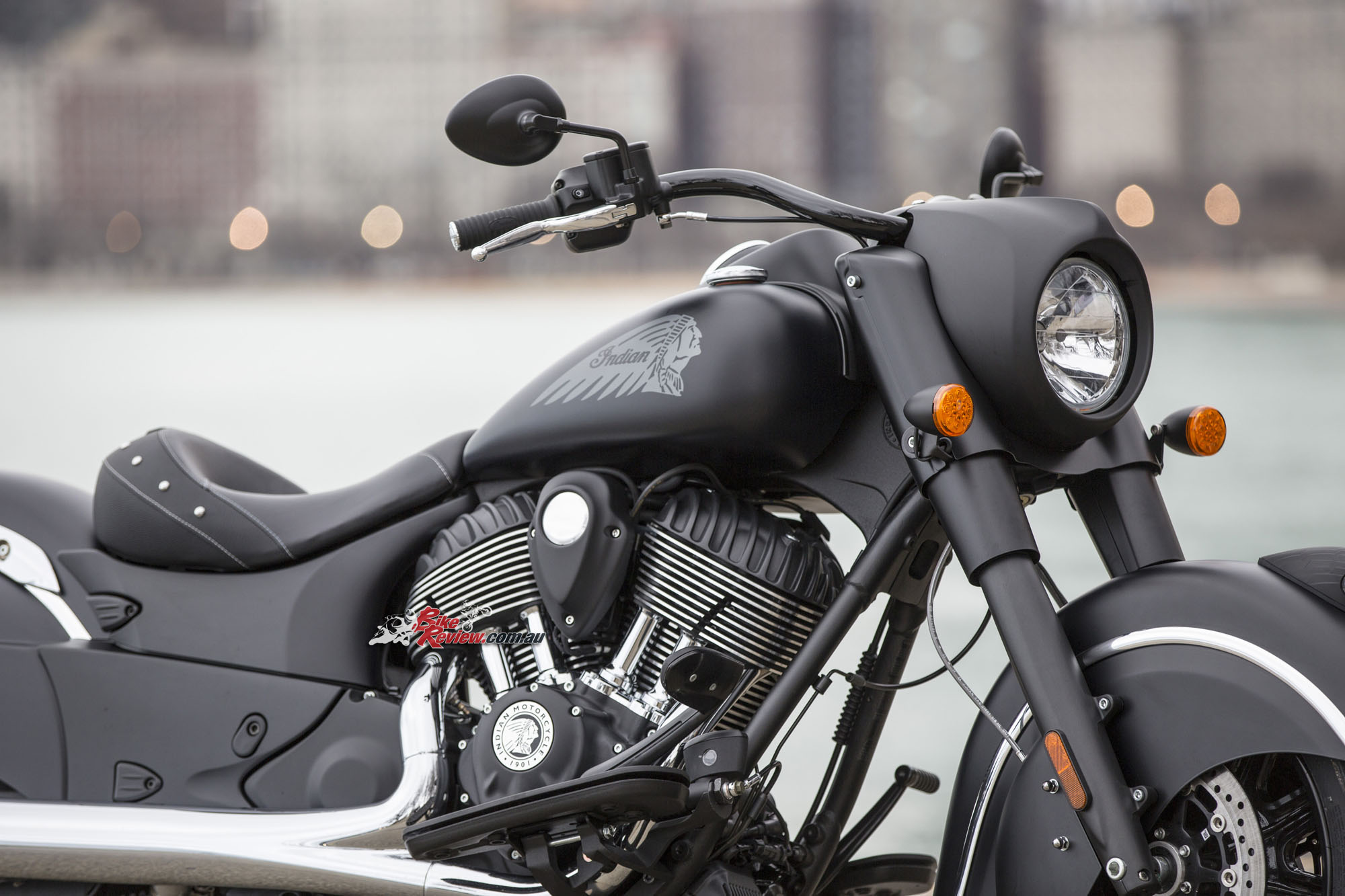 Review 2016 Indian Chief Dark Horse Bike Review