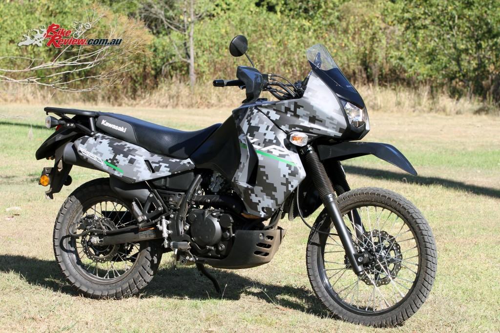 2016 Kawasaki KLR650 Bike Review Statics (5)