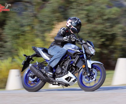 2016 Yamaha MT-03 Bike Review Actions (1)