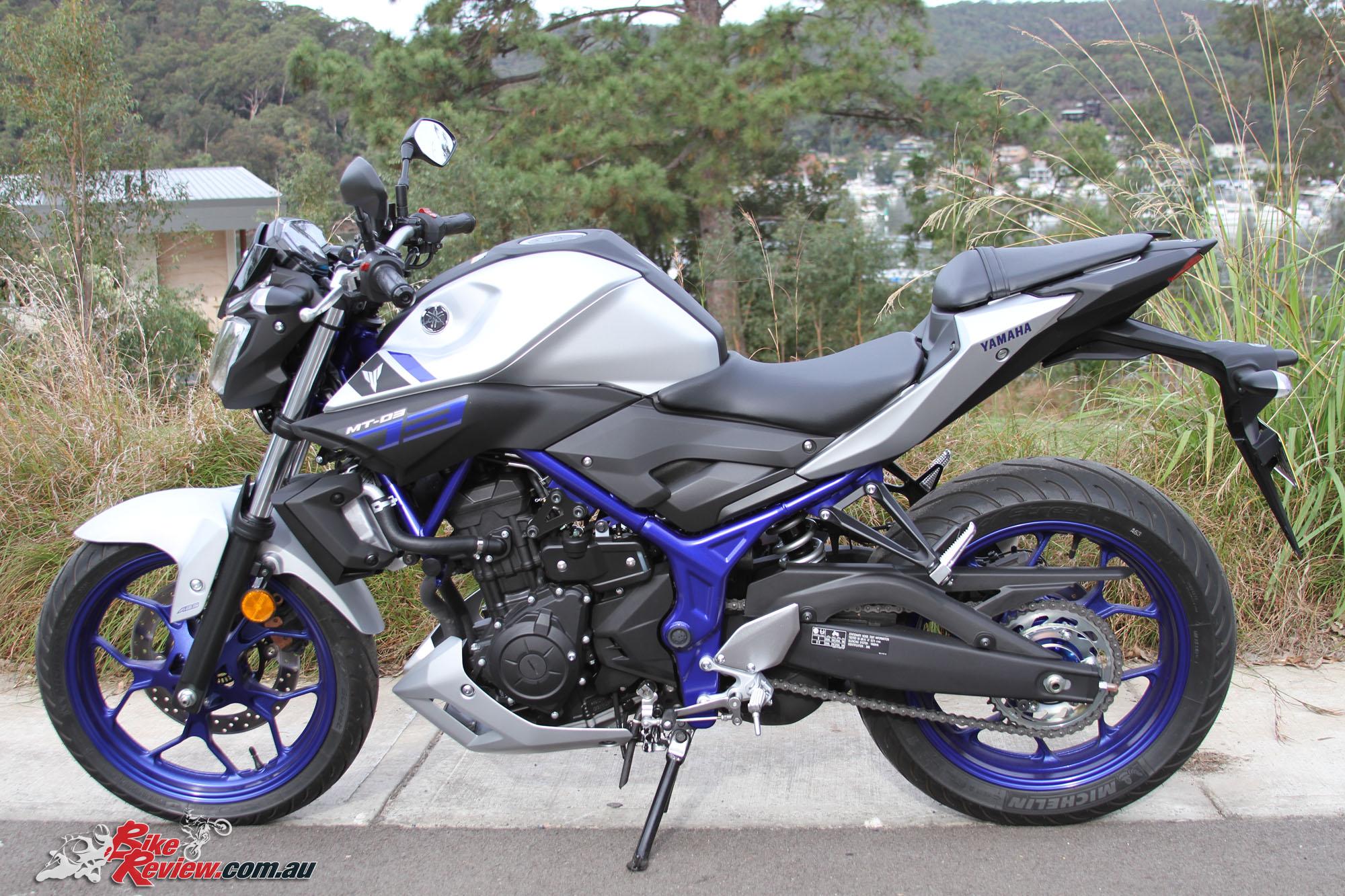 First ride: Yamaha MT-03 review   Visordown