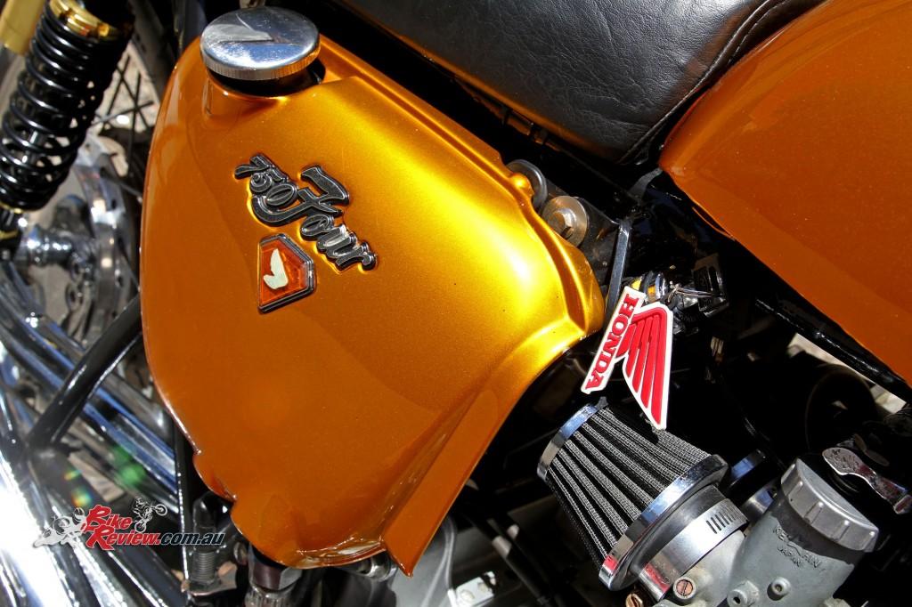 Bike Review Custom Classic CB750 Four Details (1)