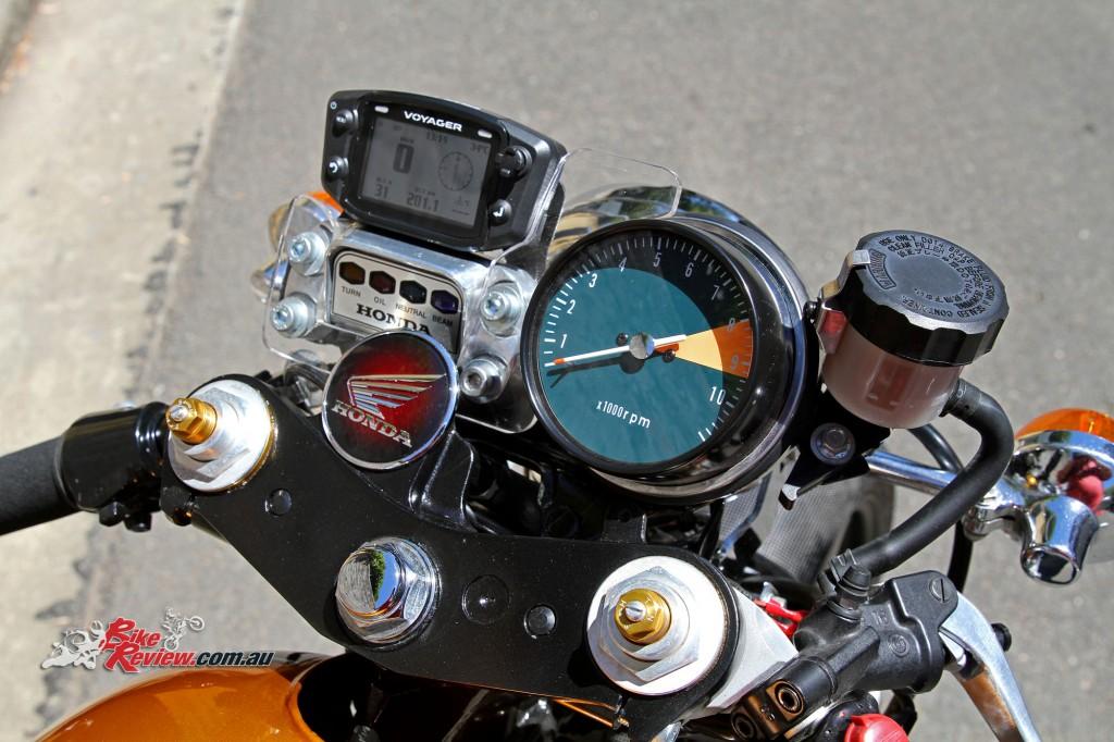 Bike Review Custom Classic CB750 Four Details (14)